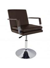 Fotel fryzjerski Gabbiano 049 - brązowy