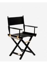 Drewniane krzesło do makijażu niskie