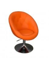 Fotel fryzjerski Lord pomarańczowy