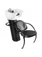 Myjnia fryzjerska Gabbiano 105 - czarna
