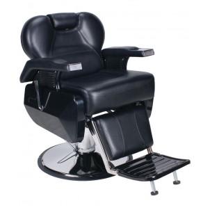 Fotel barberski Marcus - czarny
