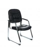 Fotel konferencyjny CorpoComfort BX-719 Czarny