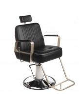 Fotel barberski HOMER BH-31237 Czarny LUX