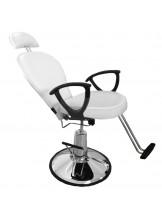 Fotel fryzjerski Daktyl - biały