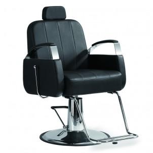 Fotel barberski Bob - czarny