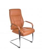 Fotel konferencyjny CorpoComfort BX-5085C - brązowy