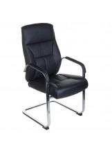 Fotel konferencyjny CorpoComfort BX-5085C - czarny