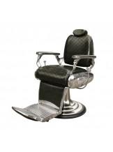 Fotel fryzjerski Bond - czarny