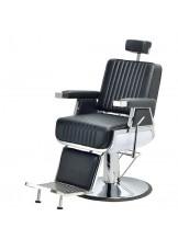 Fotel barberski Sam - czarny