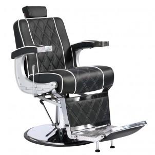 Fotel barberski Colt - czarny