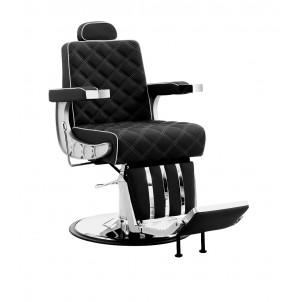 Fotel barberski Eric - czarny