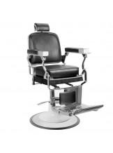 Fotel barberski Gabbiano Prince - czarny