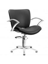 Fotel fryzjerski Modena - czarny