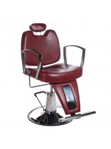 Fotel barberski Homer II BH-31275 - czerwony