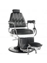 Fotel barberski Lord - czarny