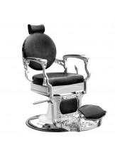 Fotel barberski Gabbiano President - czarny
