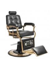Fotel barberski Gabbiano Boss - czarny