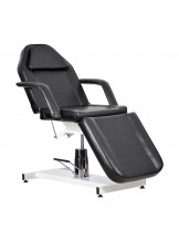 Fotel kosmetyczny Standard Bis - czarny