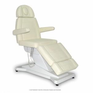 Fotel kosmetyczny F115 z ogrzewaniem - beżowy