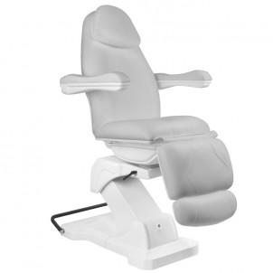 Fotel kosmetyczny Basic 161 - szary