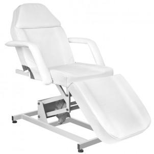 Fotel kosmetyczny Azurro 673A - biały