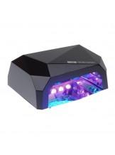 Lampa LED 36W DIAMOND do paznokci BS-557 czarna