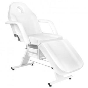 Fotel kosmetyczny Basic 202 - biały