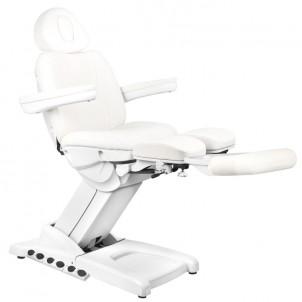Fotel kosmetyczny Azurro 872S Pedi Pro Exclusive - biały