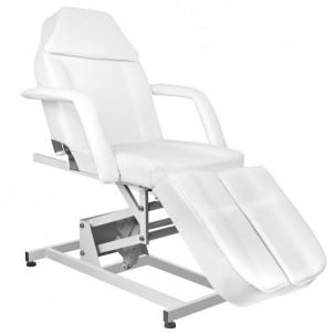 Fotel kosmetyczny Azurro 673AS pedi - biały