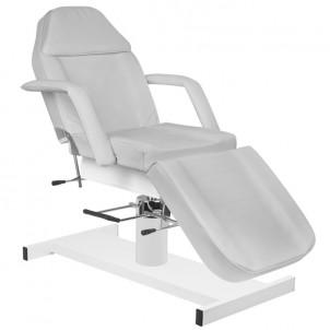 Fotel kosmetyczny A-210 - szary