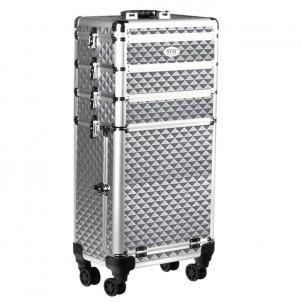 Kufer do makijażu SA026 silver