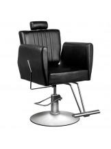 Fotel fryzjerski Hair System 0-179 - czarny