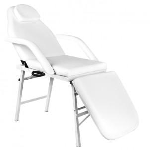 Fotel kosmetyczny składany A270 - biały