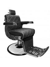 Fotel barberski Gabbiano Giuseppe - czarny