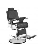 Fotel barberski Gabbiano Royal II - czarny