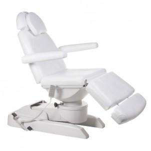 Fotel kosmetyczny elektryczny BT-2137A - biały