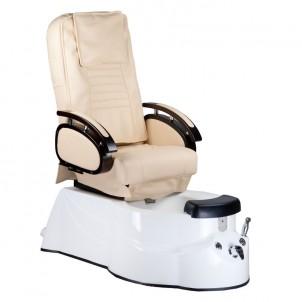 Fotel Pedicure SPA BR-3820D Kremowy