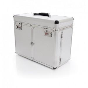 Kuferek kosmetyczny S- duży silver