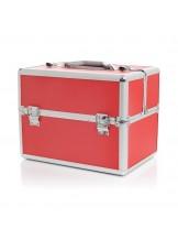 Kuferek kosmetyczny S- red