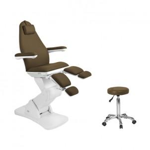 Fotel do pedicure 2244A brąz (elektryczny)