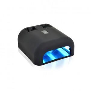 Lampa UV 36W Timer guma Black z wysuwanym dnem