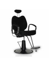 Fotel fryzjerski B-15 - czarny
