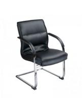 Krzesło do poczekalni BX-3346 - czarne