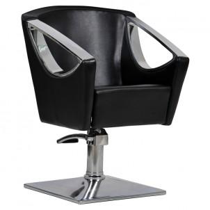 Fotel fryzjerski Avola - czarny