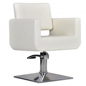 Fotel fryzjerski Bell - beż