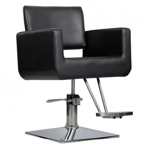 Fotel fryzjerski Bell - czarny
