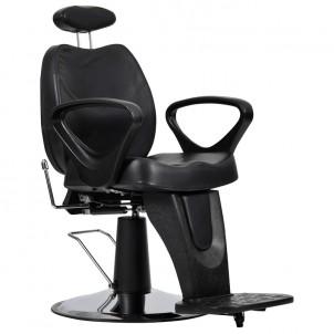 Fotel fryzjerski B-18 - czarny
