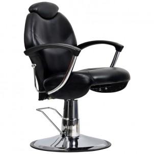 Fotel fryzjerski Montreal - czarny