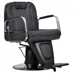 Fotel fryzjerski Waszyngton Lux - czarny