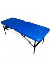 Stół do masażu Komfort Stal AT-001 - niebieski